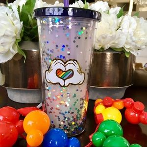 Rainbow 🌈 Disney Collection MM Travel Tumbler